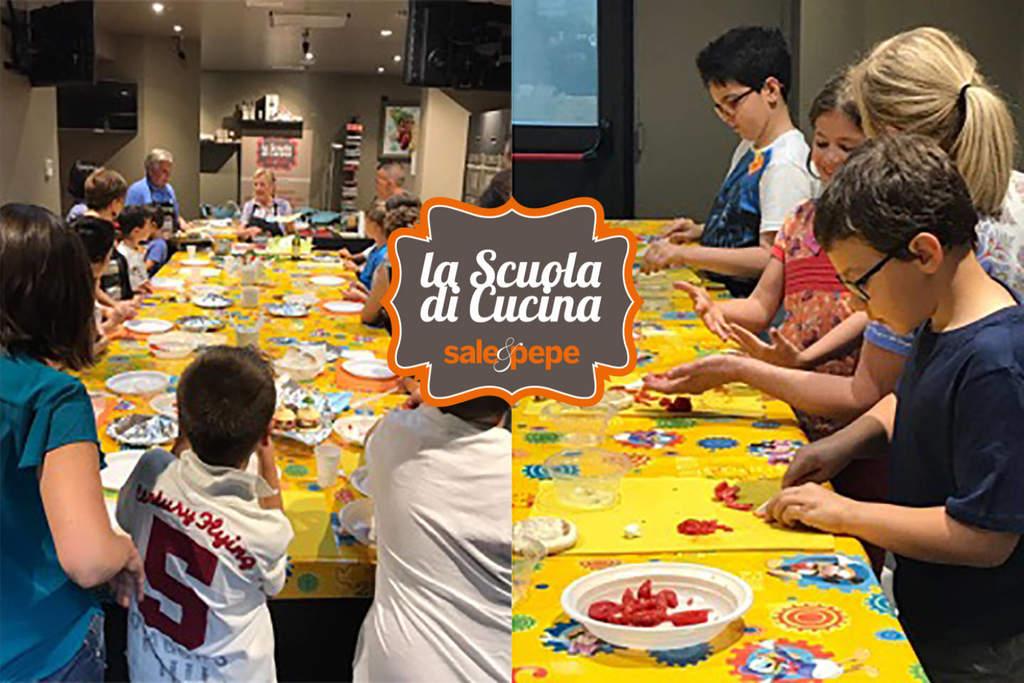 Corsi di cucina per bambini sale e pepe laboratori a for Corsi di cucina per bambini